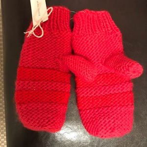 NWT Anthropologie mittens